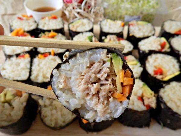 Sushi casero takeaway cómo hacer sushi Sé tu Chef