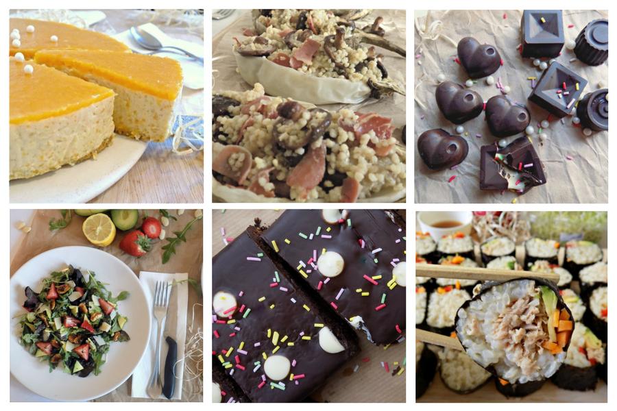 Ejemplos de recetas para talleres de cocina en Barcelona. Clases de postres y dulces saludables. Se tu chef. Anna Raventos