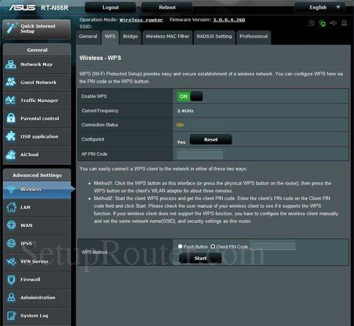 Asus RT N66R Screenshots
