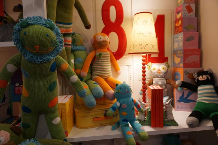 Knit Stuffed Animals photo by Setup Solutions Fenton
