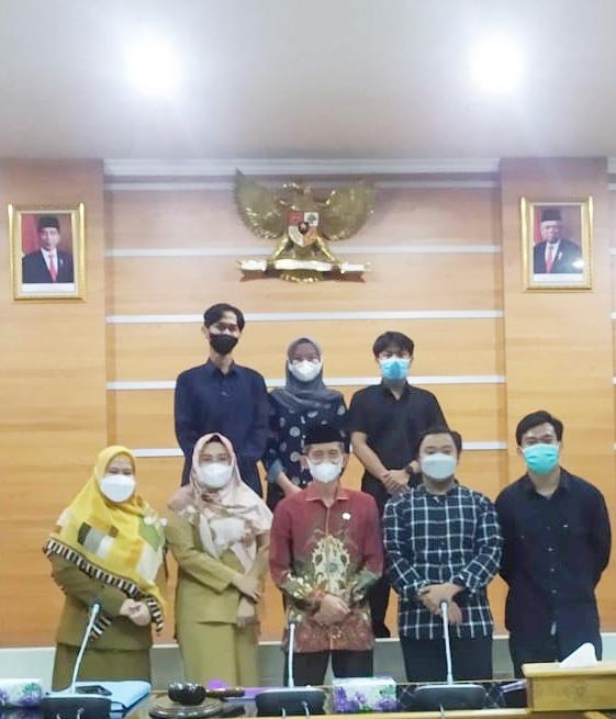 Wakil I Ketua DPRD Kabupaten Bogor Menyambut Baik Kemah Pendidikan dan Pelatihan Bahasa Arab yang di Inisiasi Mahasiswa ITHLA