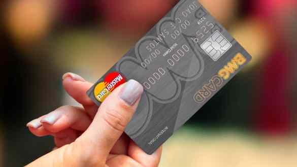pedir o cartão BMG