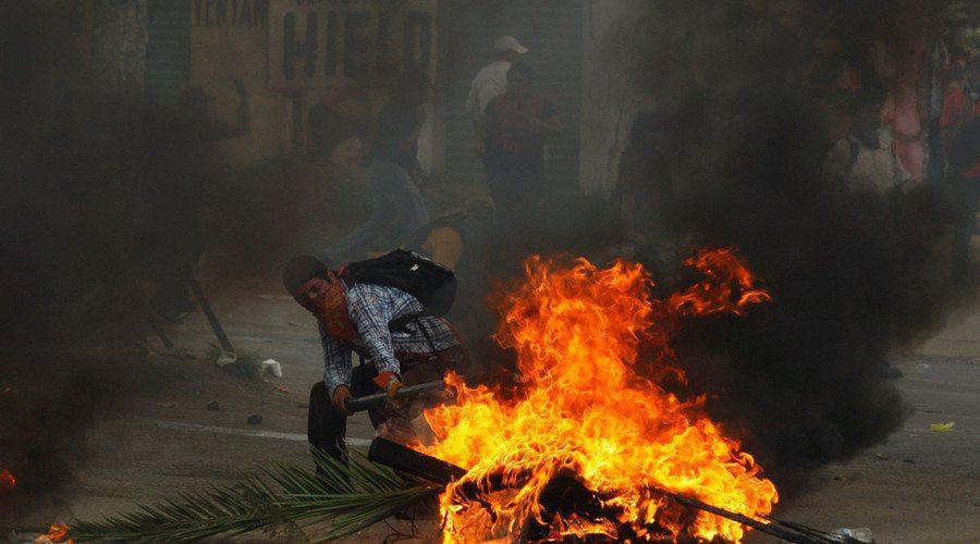 Condenan legisladores violencia en Oaxaca; urgen a establecer diálogo