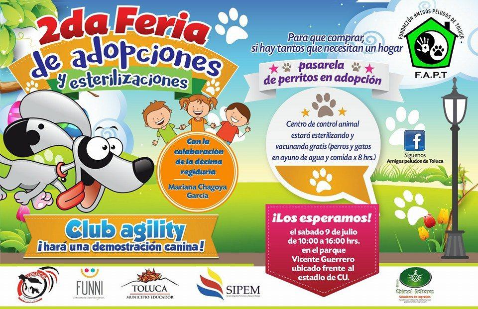FERIA DE ADOPCIONES CANINAS