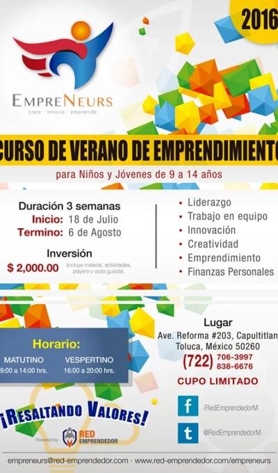 curso de verano de emprendimiento