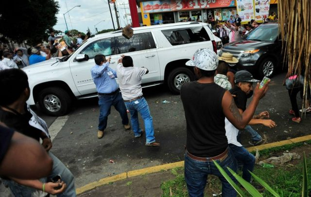13 sujetos identificados por agresión a panistas