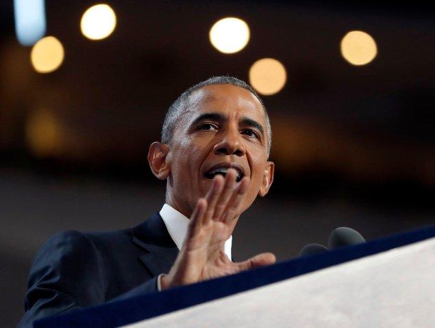"""""""Estados Unidos ya es un país con grandeza"""", afirmó Obama"""