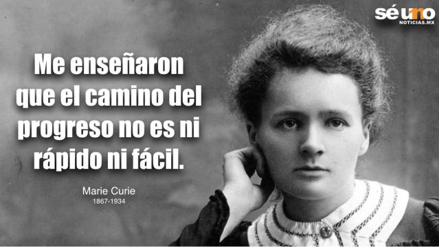 A 82 años de la muerte de Marie Curie, la primer mujer en ganar un Premio Nobel de Física