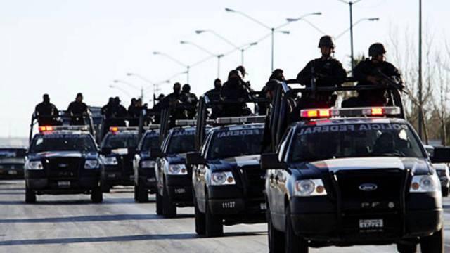Reforzaran seguridad mas de 8 mill elementos de la Policia Federal