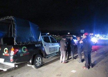 Balacera en la México – Toluca deja dos detenidos y dos policías lesionados