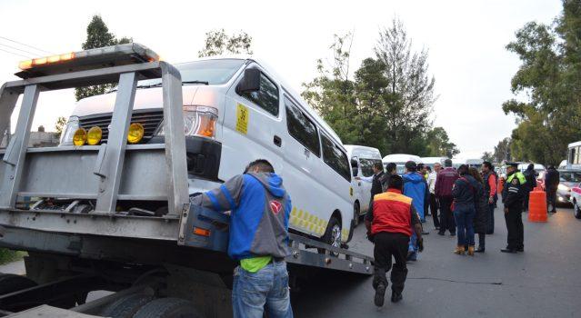 Secretaria de Movilidad realiza operativos contra transporte ilegal