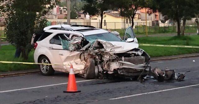 Copiloto perdió la vida en choque; el conductor se dio a la fuga
