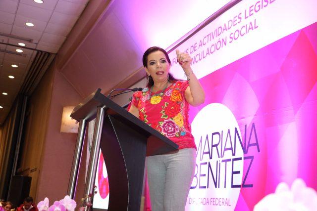 """""""Oaxaca tiene hoy la oportunidad de reconstruir su presente y forjar un mejor futuro"""": Carolina Monroy"""