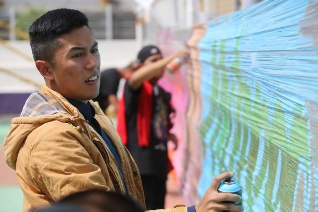 Invita Metepec a disfrutar exhibición de arte urbano