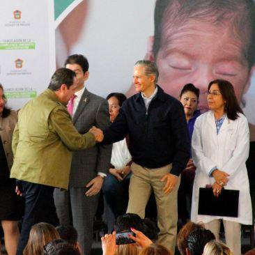 Reconoce Alfredo Del Mazo Maza la fructífera labor de Eruviel Ávila en bien de mexiquenses