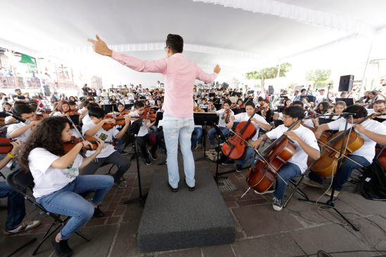 Gran éxito, Encuentro Internacional de Orquestas Sinfónicas Juveniles de la UAEM