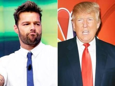 'No podemos permitir que una persona como Trump llegue a la Casa Blanca': Ricky Martin