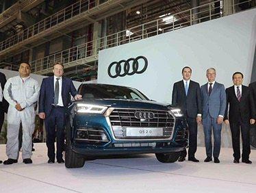 Audi inaugura primera planta premium en México