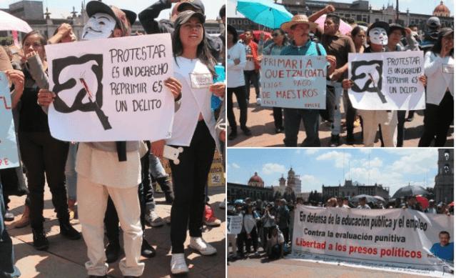 Manifestantes exigen esclarecimiento de asesinato de Ricardo Mejía