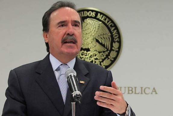 """""""Fue un error"""" dice Emilio Gamboa, por aterrizaje de Helicóptero"""