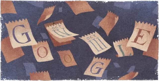 #DoodleDelDia de Google la adopción del calendario gregoriano