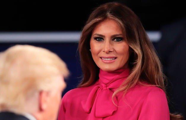 La polémica por la blusa de Melania Trump