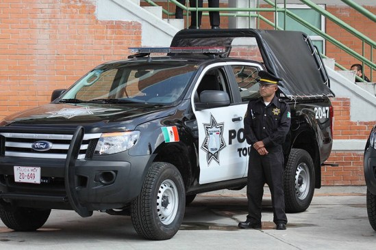 Ante ola de inseguridad, refuerzan a policías en Toluca