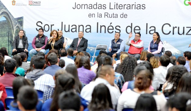 Inicia gobierno estatal jornadas literarias en la ruta de Sor Juana