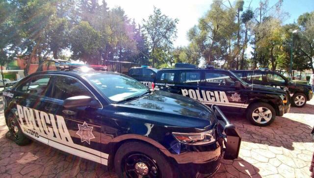Casa Blanca en Metepec estrenan patrullas