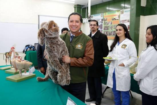 Jorge Olvera se pronuncia en contra de cualquier forma de maltrato animal