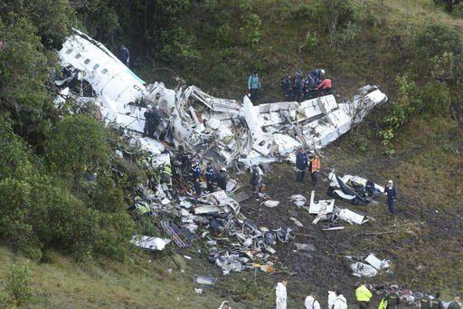 Accidente de avión del Chapecoense: 76 muertos y seis supervivientes
