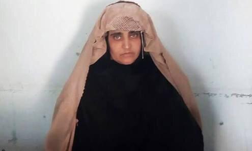 Niegan libertad a afgana que fue portada del National Geographic