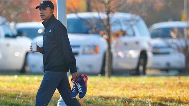 Obama juega basquetbol en día electoral