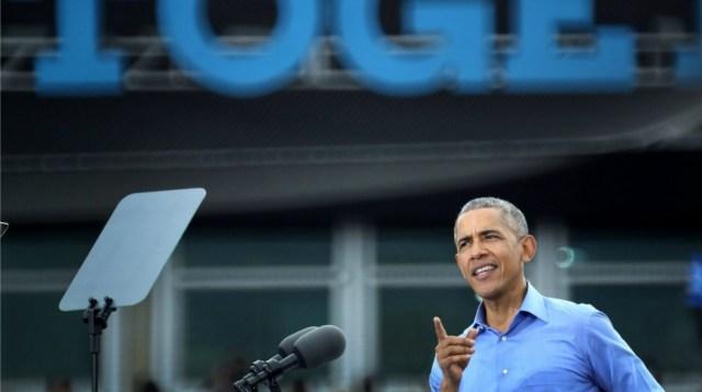 """Apuesto a que EU """"rechazará el miedo y elegirá la esperanza"""": Obama"""