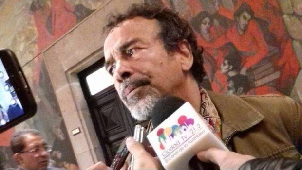 Damián Alcázar se presenta a Constituyente 3 meses después