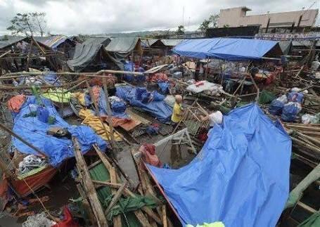 Deja tifón en Filipinas tres muertos y 70 mil afectados