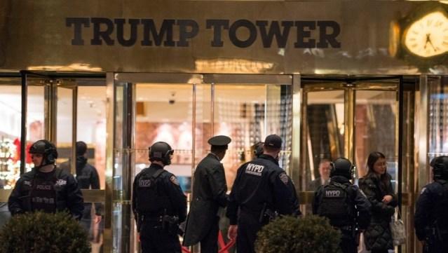Bolsa sospechosa llena de juguetes provoca panico en Trump Tower
