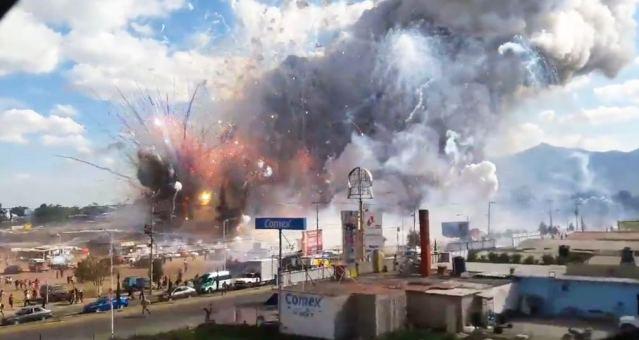31 muertos y 60 heridos saldo oficial en Tultepec, Estado de México