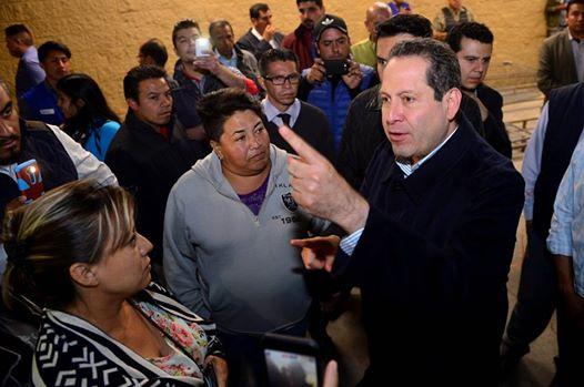 Gobernador del Edomex supervisa operativos anti vandalismo