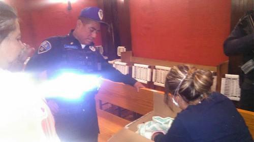 Abandonan a bebé dentro de una caja en iglesia de Coyoacán