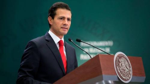Ni confrontación ni sumisión en la nueva relación con EU: Peña Nieto