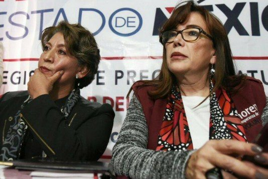 Delfina Gómez se registra como precandidata de MORENA