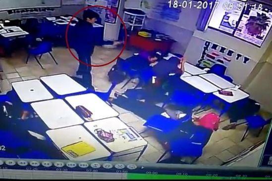Balacera dentro de una escuela en Monterey deja 5 heridos