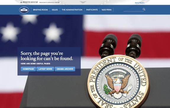 La página web de la Casa Blanca dice 'adiós' a la lengua española