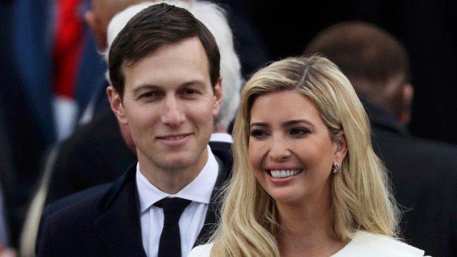 Una foto de la hija de Trump con su marido causa indignación en las redes