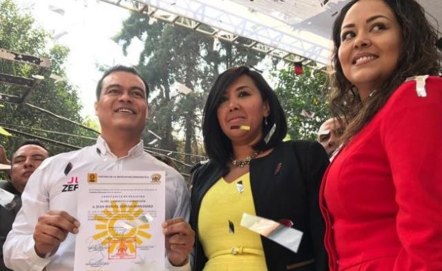 Se registra Juan Zepeda como aspirante a la candidatura del PRD al Estado de México