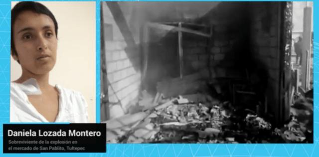 Un niño detonó la tragedia en Tultepec: Sobreviviente