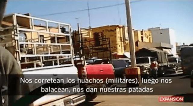 Tianguis en Puebla donde venden gasolina robada