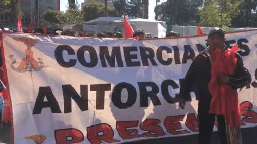 Preparan antorchistas mas manifestaciones en Toluca
