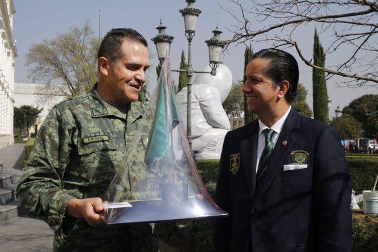 Personal de la 22ª Zona Militar estudiará bachillerato en UAEM